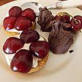 Le temps des cerises en dessert
