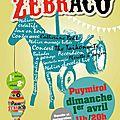 Zebraco, family journée, le dimanche 1er avril 2012 !