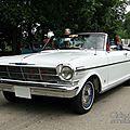 <b>Chevrolet</b> <b>Chevy</b> <b>II</b> Nova 400 convertible-1962