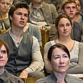 Caleb and Tris Divergent movie
