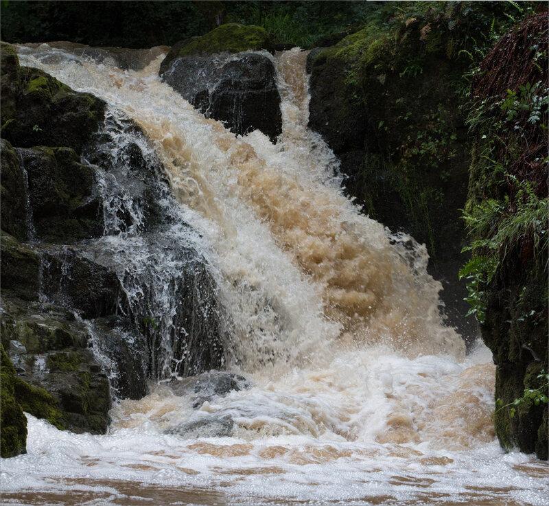 Puits Enfer ruisseau cascade après orage100618 ym 3