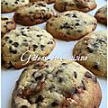 Cookies moelleux aux snickers