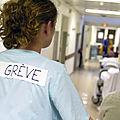 Hôpitaux , tous en <b>grève</b> le 11 juin : nous voulons l'augmentation des effectifs et des salaires ! Manif à Lyon !