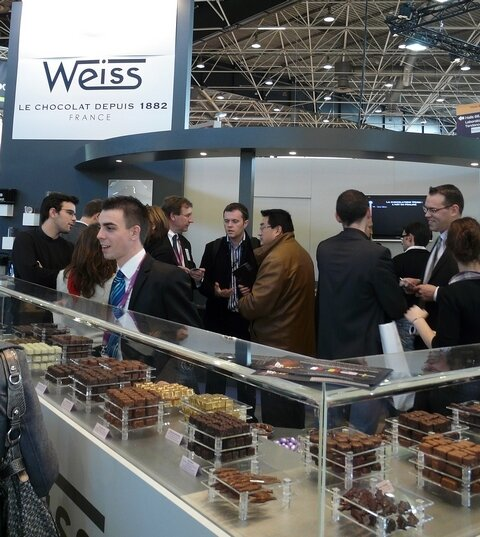 S chocolat Weiss