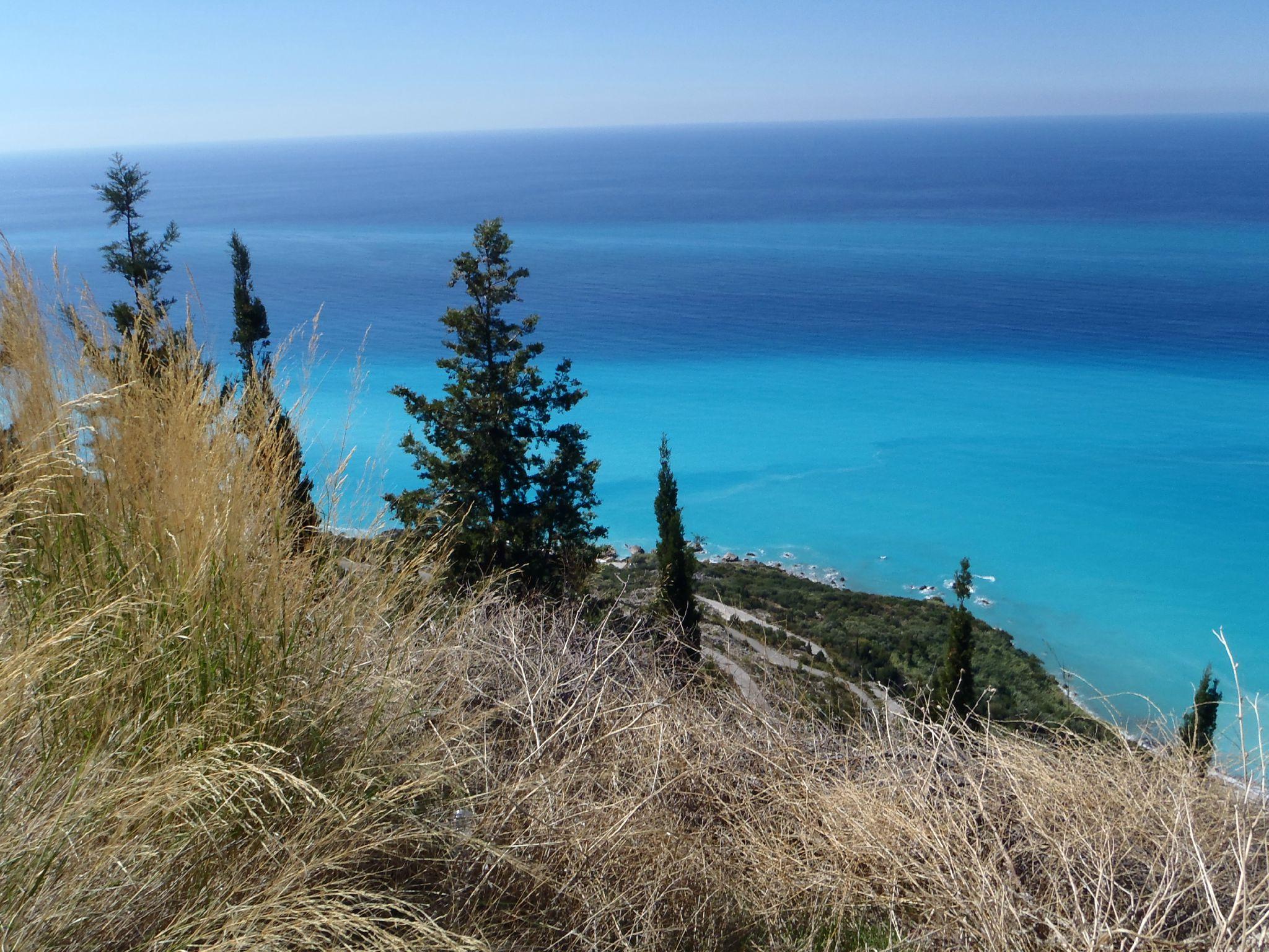 grèce lefkas les plages convoitées par les vendeurs de cartes postales