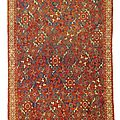 An Oushak 'Small <b>Pattern</b> Holbein' Carpet, West Anatolia, Late 15th-Early 16th Century
