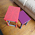 Customisation petites tables