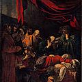 Les tableaux du <b>Caravage</b> à Rome (15/20). N°# - Campo Marzio - Le vicolo del Divino Amore.