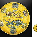 a_rare_yellow-ground_turquoise_and_aubergine-glazed_dragon_dish_wanli_d5430762g