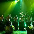 Saint-Lons-les-Mines, festival Mine 2 rien, les Tambours du Bronx
