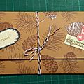 Enveloppes et cartes de noël