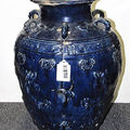 Vietnamese cobalt glazed pottery trade jar, 19th <b>Century</b> & blue and white ceramics, <b>Late</b> <b>15th</b>/<b>Early</b> <b>16th</b> <b>Century</b>