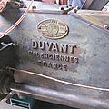 Démarrage moteur <b>DUVANT</b> RF de 1948
