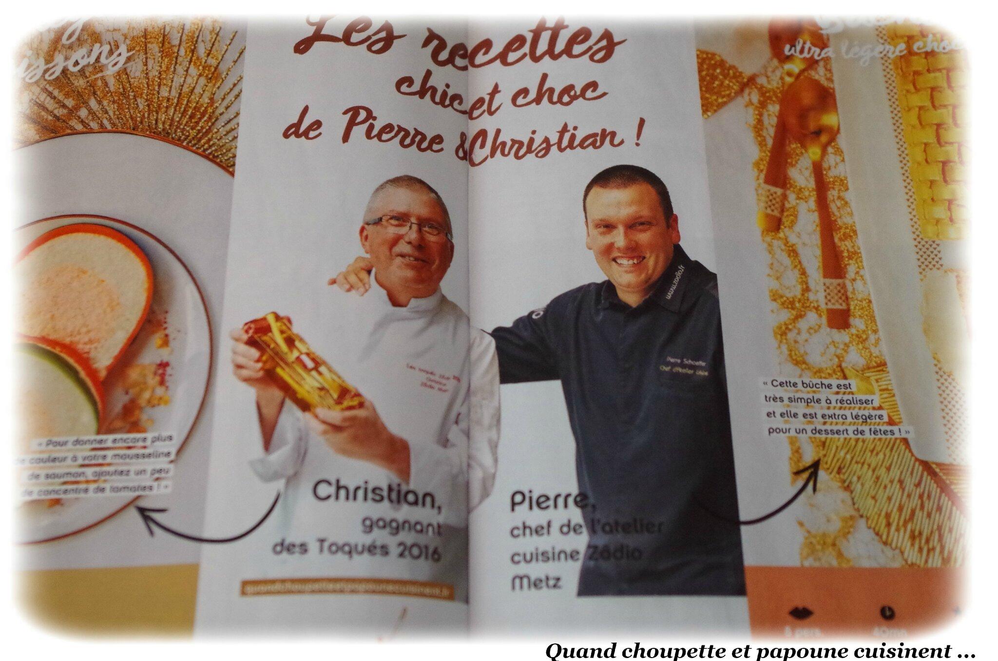 LES RECETTES CHIC ET CHOC DE PIERRE & CHRISTIAN
