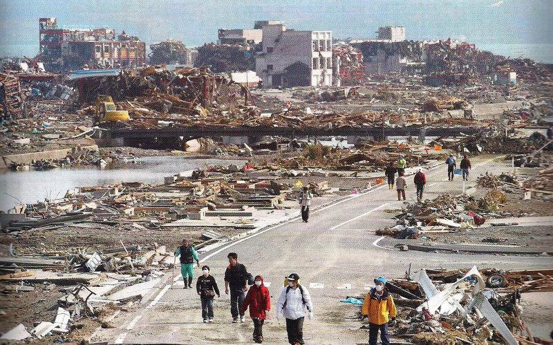 photo menaces environnementales - tsunami Fukushima 2