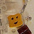 Porte-clefs BN et chocolat (N)