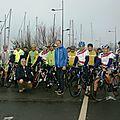 Cyclo club de Bohars avec Laurent Madouas et le professeur Mansourati