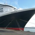 Le <b>Queen</b> <b>Mary</b> <b>2</b> en escale au Havre, jeudi 27 novembre 2014