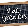 Vides greniers du dimanche 11 mai 2014