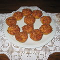 muffins aux trois fromages