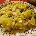 Salade d'endives et de pommes de terre