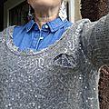 Ma première chemise en jean!!!