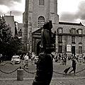 Prométhée de Zadkine sur la place Saint-Germain des Prés.