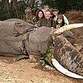 Les cretins de riches qui tuent les animaux