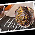Cupcakes d'halloween {chocolat et épices}
