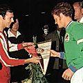 La renaissance en vert: Football français et <b>Coupes</b> d'Europe des années 1970