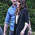 Mr et mrs grey sur le tournage de cinquante nuances plus claires [freed]