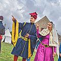 Tristan Rouault et Péronnelle de Thouars , l'héritière des terres de la vicomté de Thouars, de Talmont et de Tiffauges