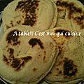 Pain chapati tunisien