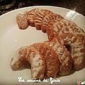 Petit croissants de lune au noisettes
