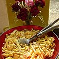 Chou blanc en salade