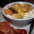 Spécial asie # 1 : nouilles udon rapides