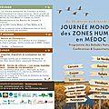 Eco-acteurs en <b>médoc</b>. Agenda zones humides