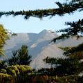 L'Etna depuis la fenêtre de ma chambre à Nicolosi