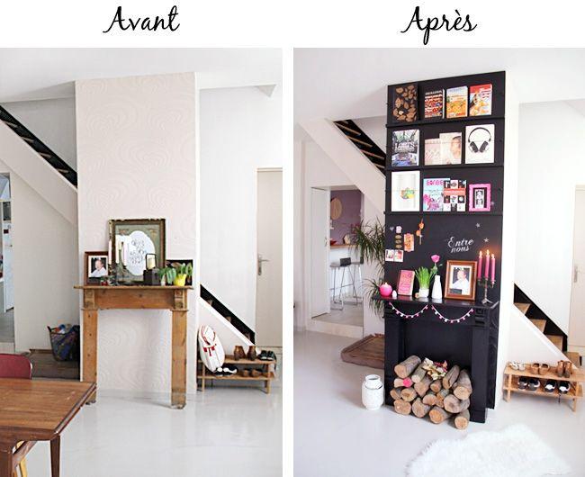 Bricolage Maison  Habiller Un Mur De Ses Livres Prfrs  Tte DAnge