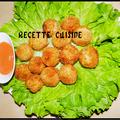 Les nuggets maison ou les croquettes poulet
