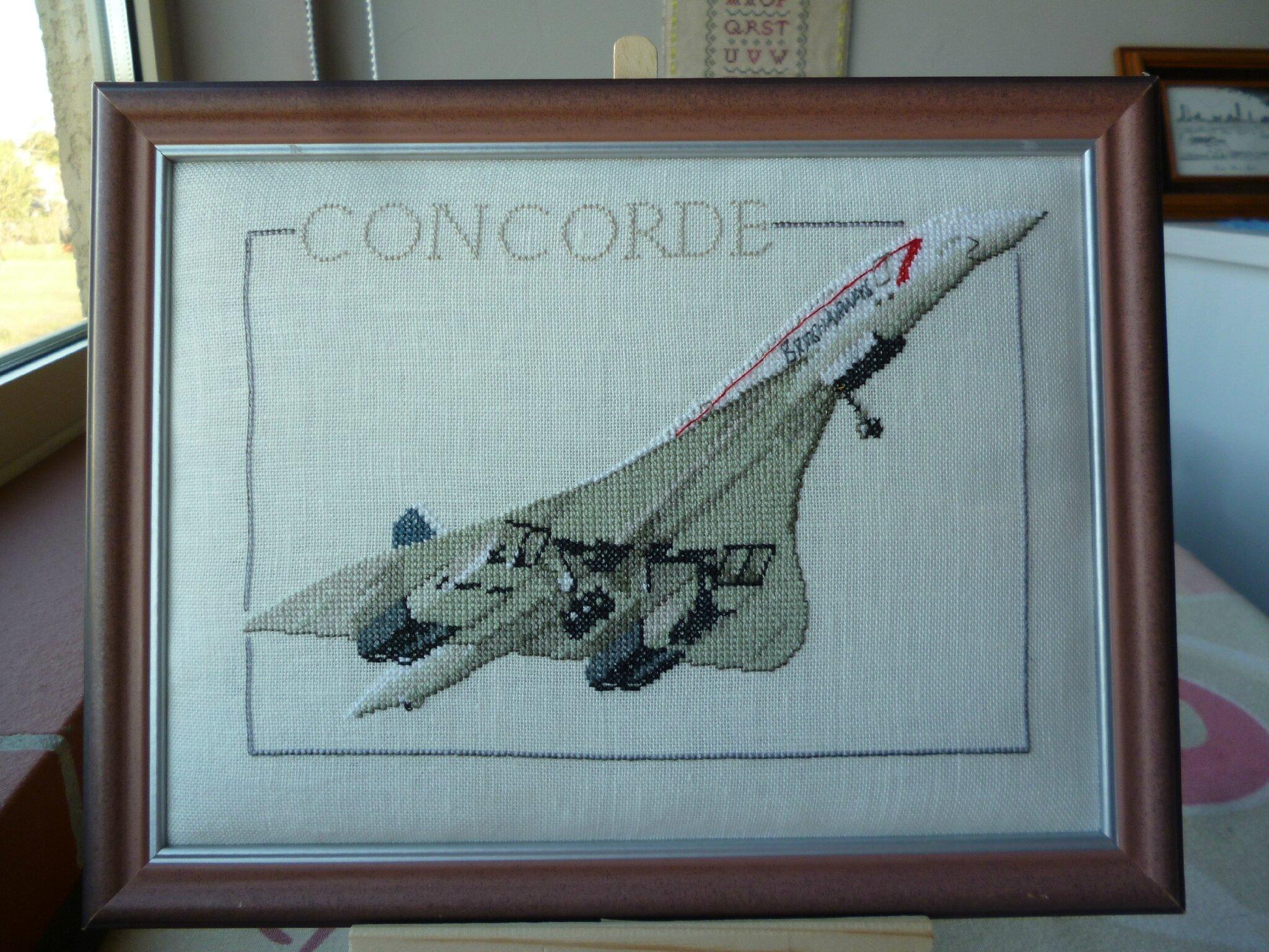 """Finition """" Le CONCORDE """""""