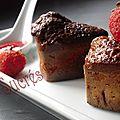 Muffins au coeur de fraise