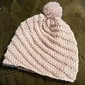 Nouveau bonnet avec pompon - chinook