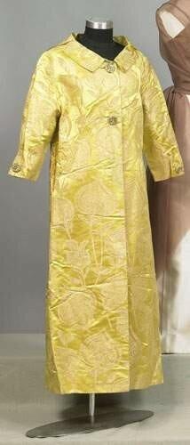 BALENCIAGA, haute couture, circa 1960 - Manteau du soir long en