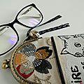 Gardiens chats pour petites lunettes