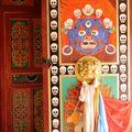 Prairies de Ganjia - Tseway Gompa - Temple Bön (ancienne religio