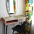 coiffeuse-vintage-glitter-chaise