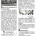 Les breves du mois de mai 2015... : issn 2607-2006
