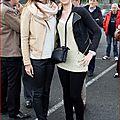 Journée des transplantés, madeline miss loiret val de loire avec marine lhorphelin, miss france 2013