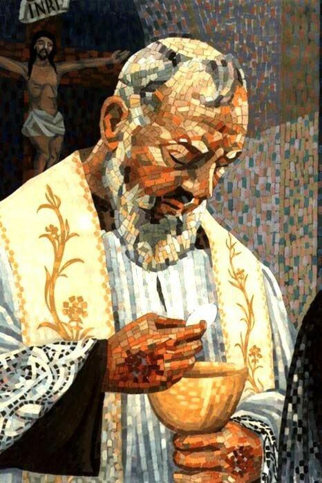 Mosaïque de Saint Pio